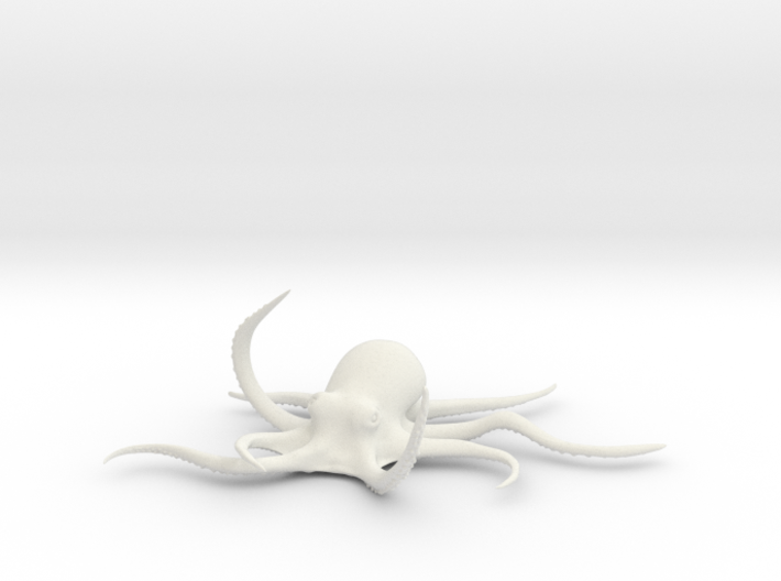 Octopus Figure 3d printed