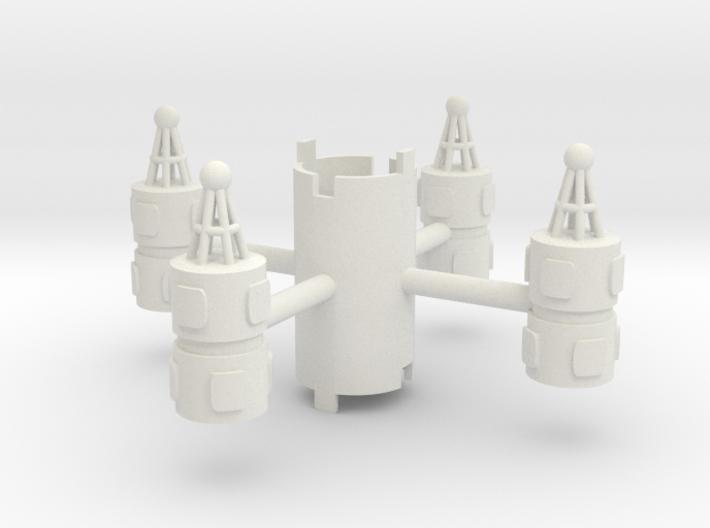 B.Y.O.S.S. 4 Cylinders Vertical 3d printed