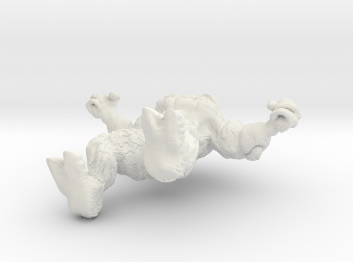 Mindless Rock Monster 4 3d printed