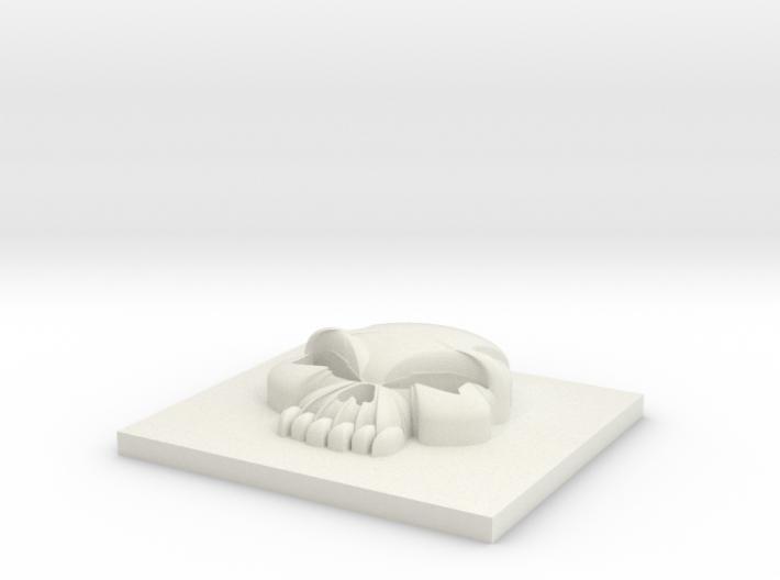 11mm Skull 3d printed