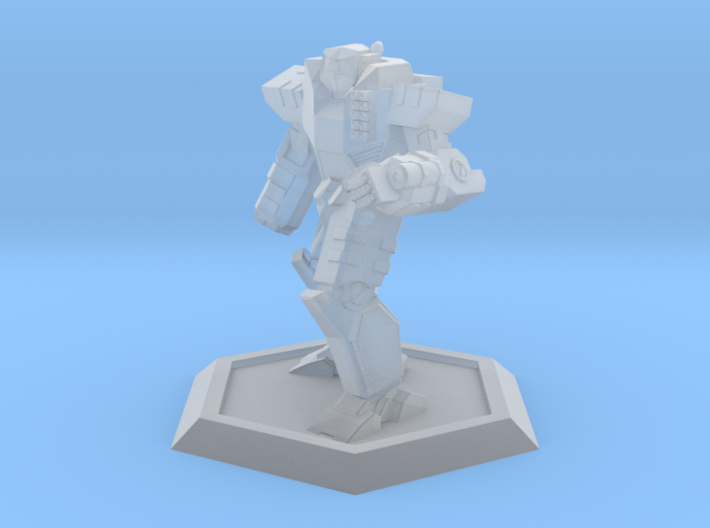 Mecha- Odyssey- Achilles Pose 2 (1/500th) 3d printed