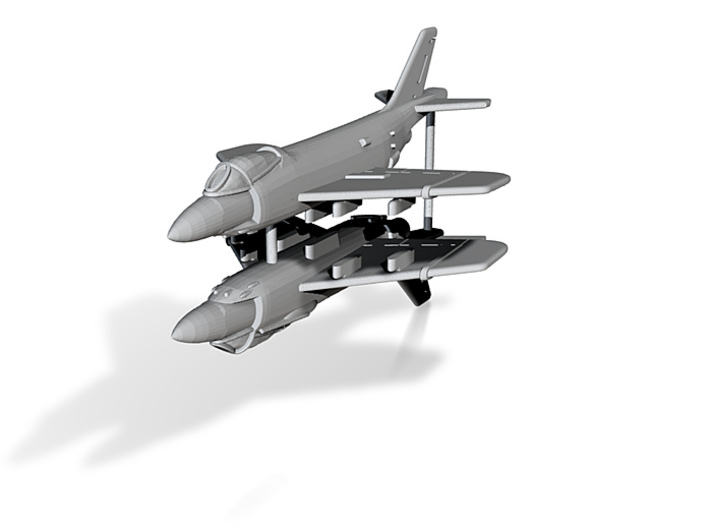 1/300 F3H Demon (x2) 3d printed