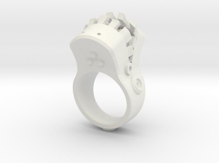 Big mouth Ring 3d printed