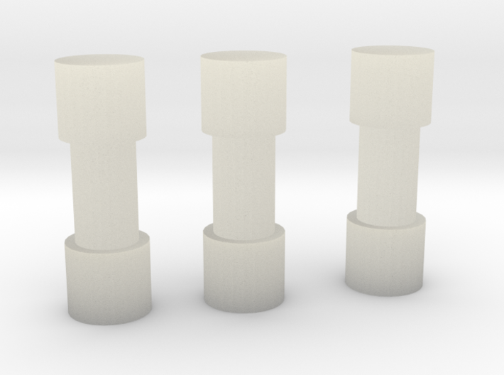Pipe Bomb Set 3d printed