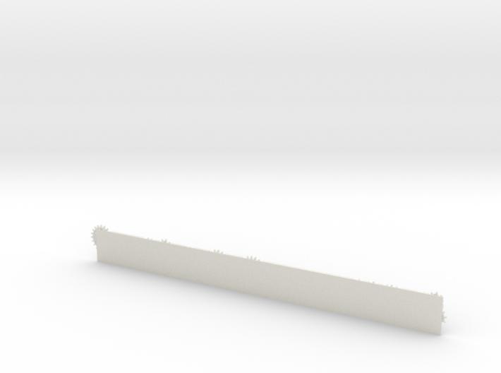 Gear Ruler 3d printed
