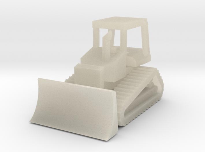 Caterpillar D4H Bulldozer - Z scale 3d printed