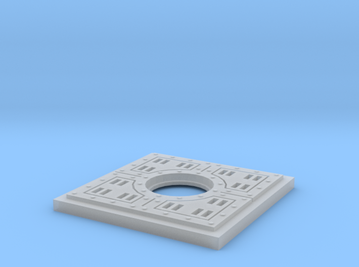 Floor Tile Manhole 3d printed