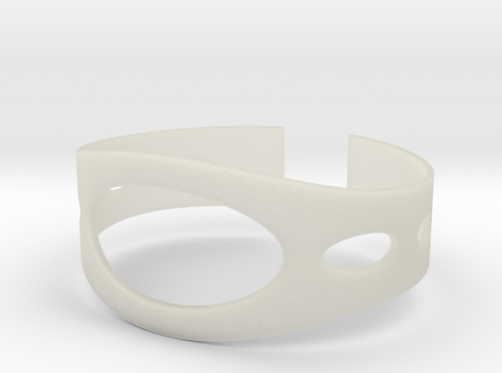 Beach Bangle 3d printed