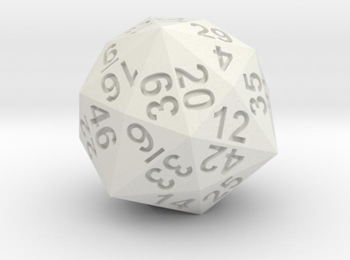48-side dice 3d printed