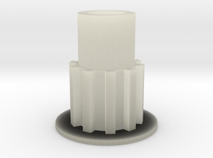 poulie moteur 3d printed