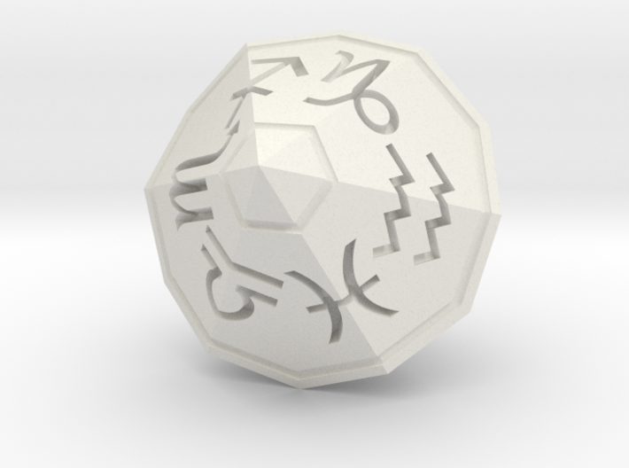 Zodiac (solid) 3d printed