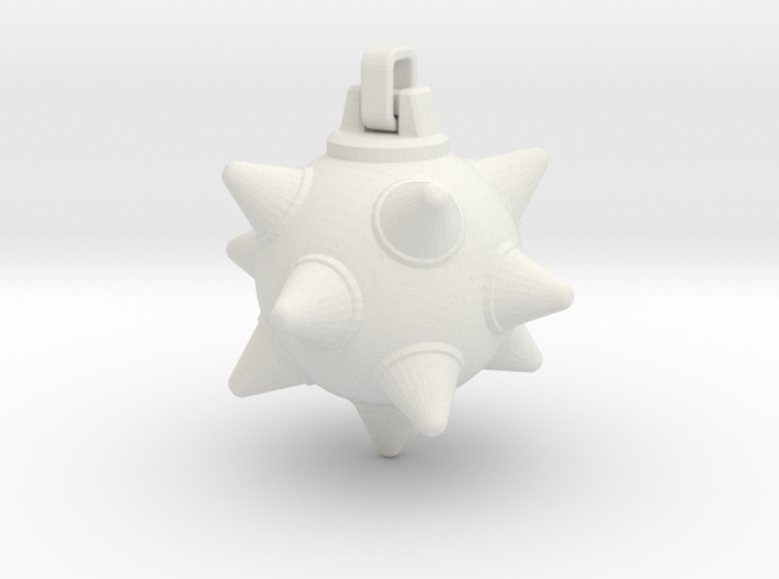 Morning-Star Pendant Head 3d printed