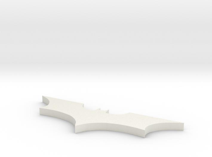 Batman Logo Necklace 3d printed