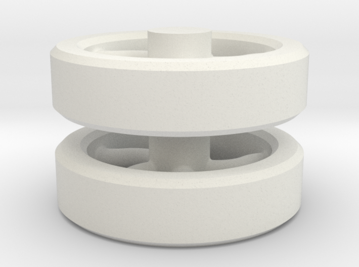flywheel-assy 3d printed
