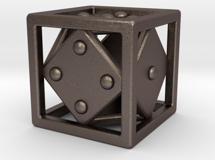 Open Die (d6) -Design Your Own! 3d printed