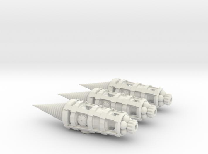 Molemen Type 1 3-pack 3d printed