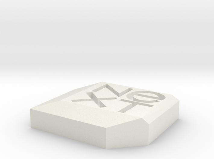 NeXt logo 3d printed