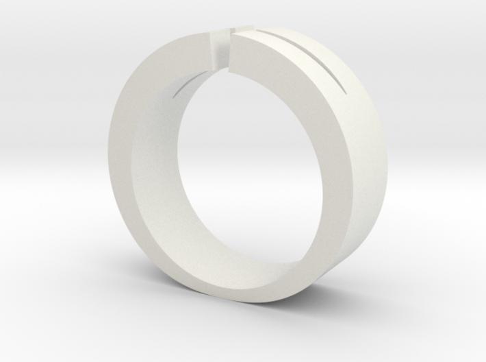 Split Ring 3d printed