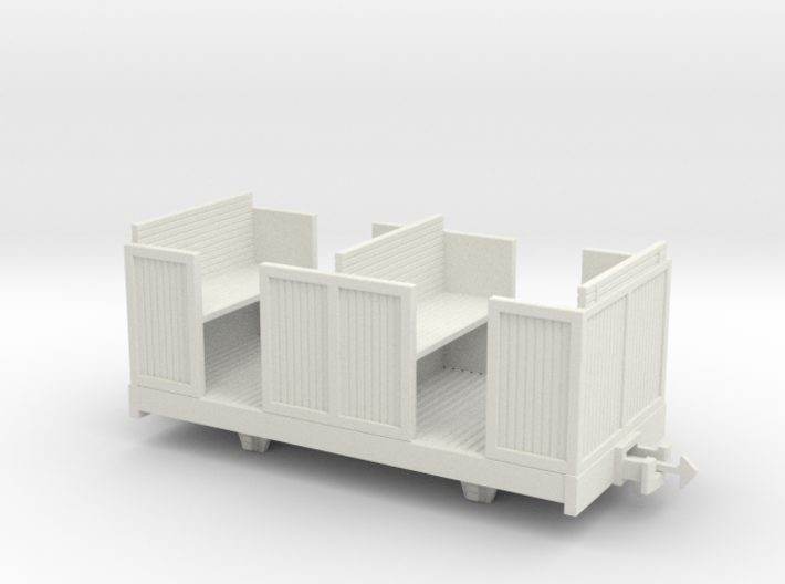O9 4 wheeled coach 3d printed