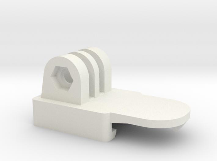 Nerf GoPro Adaptor 3d printed