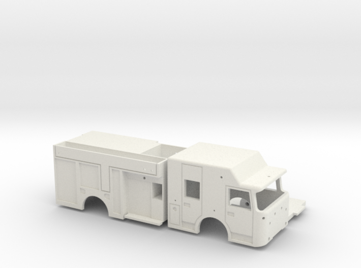 RESCUE-PUMPER PRINT 3d printed
