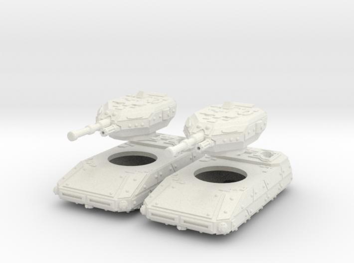 MG144-CT002A Resister II Grav Tank (Two) 3d printed