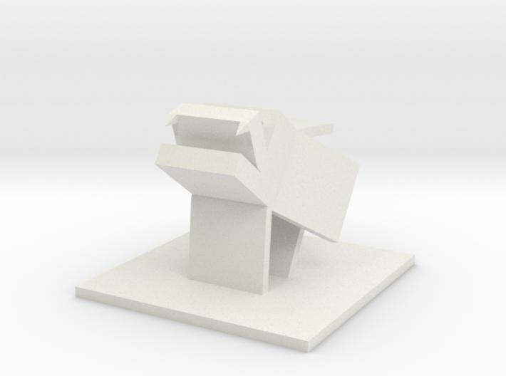 Howling Cubeast 3d printed