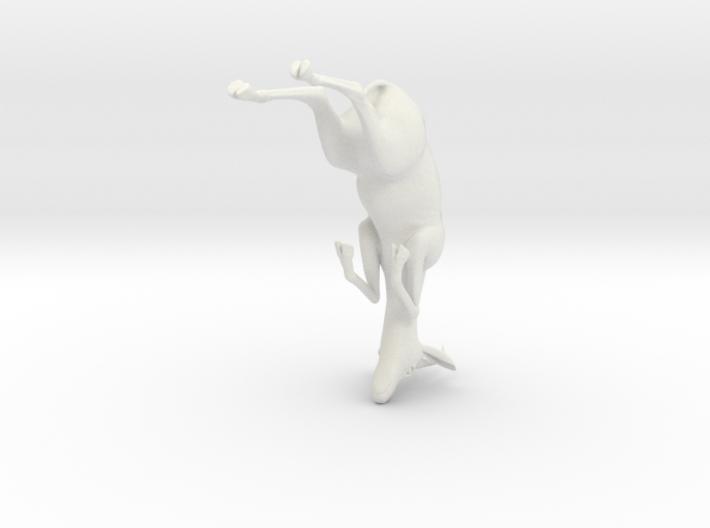 "3"" Gazelle Hanging Ornament 3d printed"