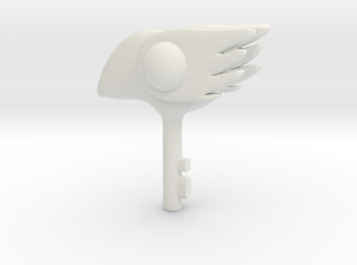 1/3 Bird Clow key 3d printed