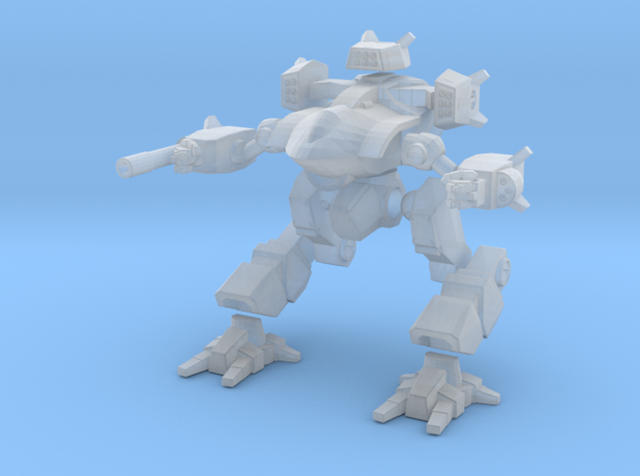 Mecha- Guardian II (1/285th) Multi-Part 3d printed