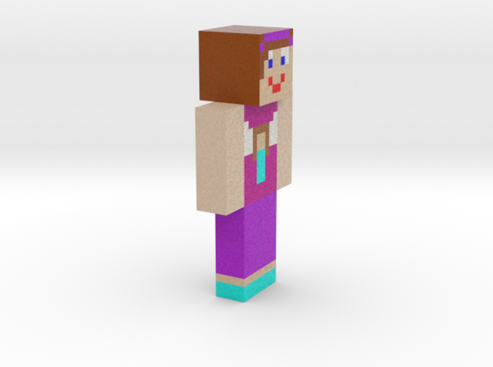 6cm | minecraftgirlup 3d printed