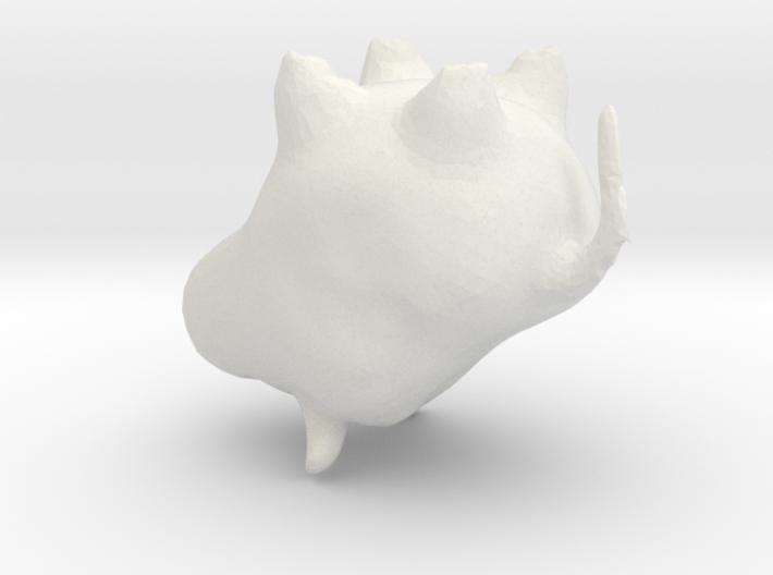 Lukács - Bull 3d printed