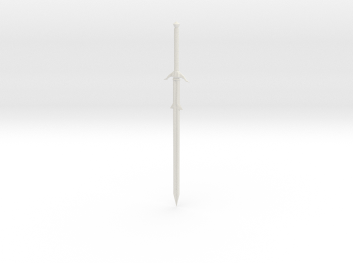 Smaller Broadsword 3d printed