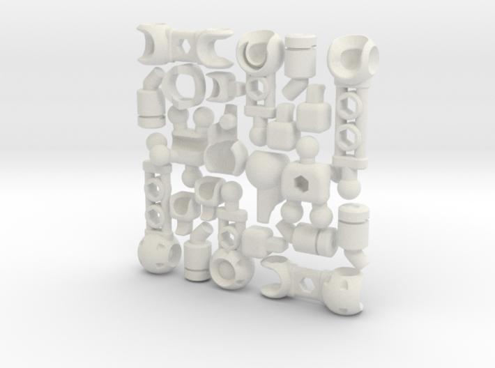 FullBorg Augmentation Kit for ModiBot 3d printed FullBorg Augmentation Kit for ModiBot