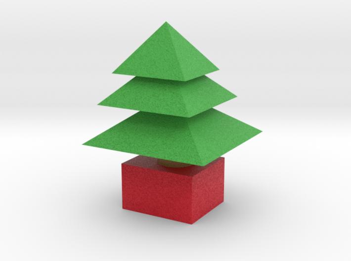 3d Xmas Tree Small 3d printed