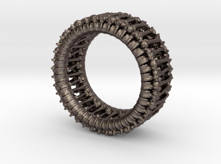 Bonering 3d printed Stainless Steel render