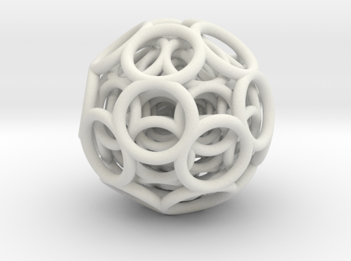 Icosa-toroidal Insanity Number 7 3d printed
