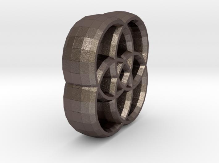 Four Circles 3d printed
