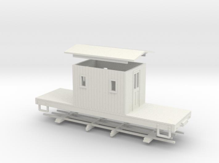 HOn30 logging caboose 2 3d printed