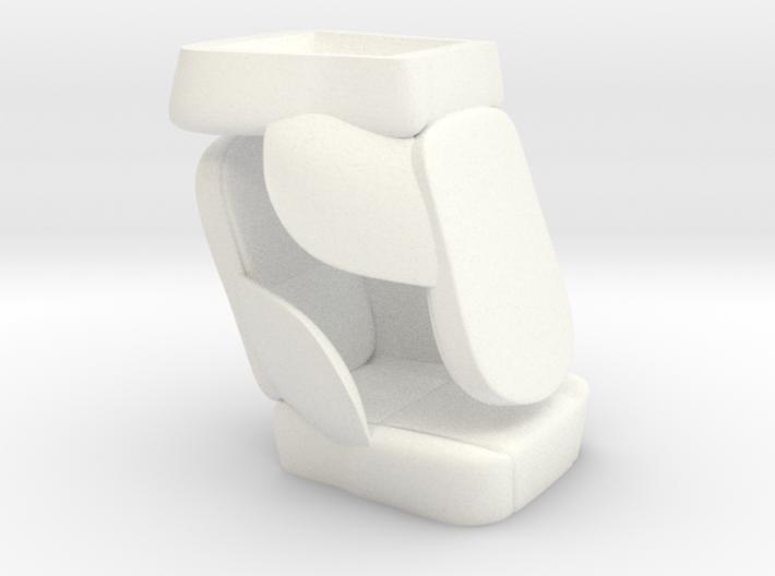 1/8 50s Sport Seat Pair 3d printed