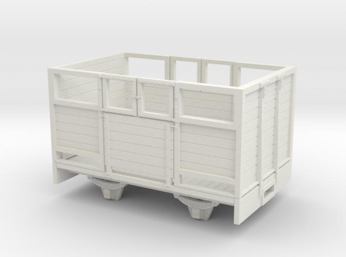O9/On18 Sheep wagon (kadee) 3d printed