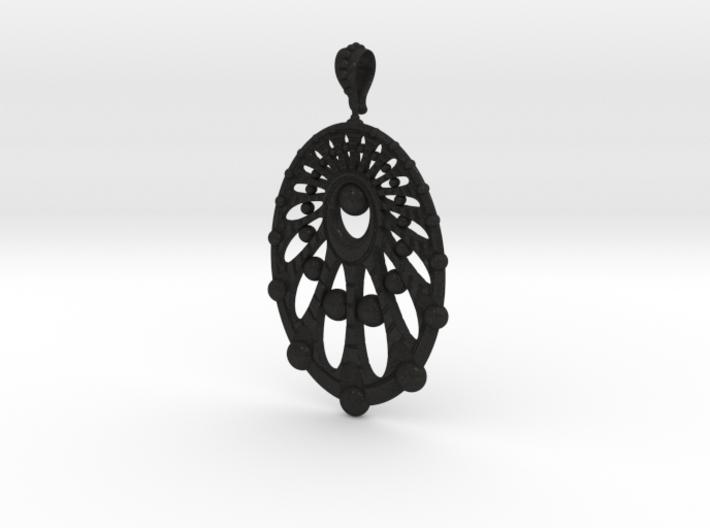 Earring Spheres 3d printed