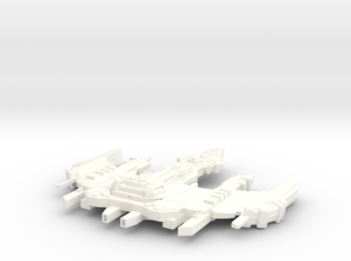 Ru'Tock Class Destroyer 3d printed