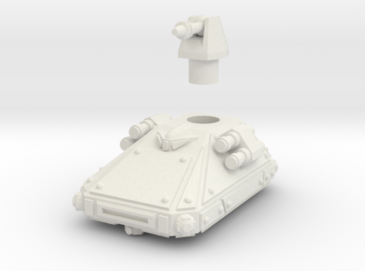 MG144-CT003 Dispersion Ultra Light Grav Tank 3d printed