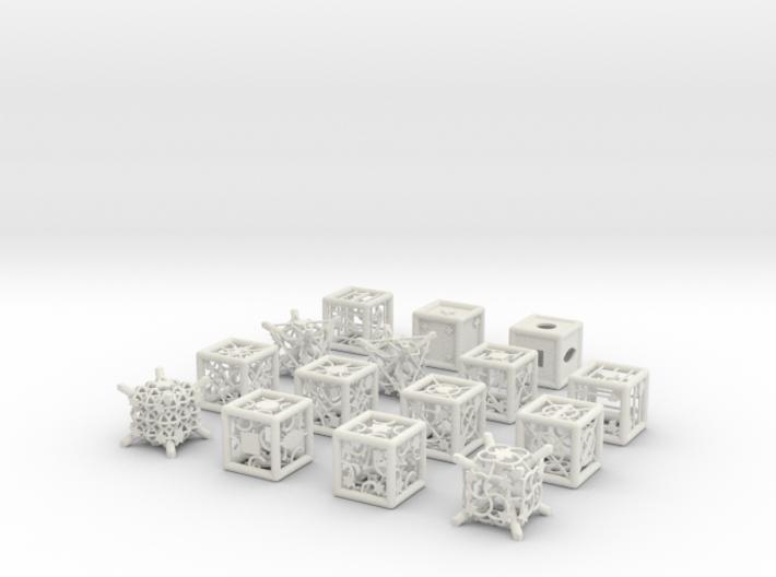 Grid Die All Pack 9 of 13 3d printed