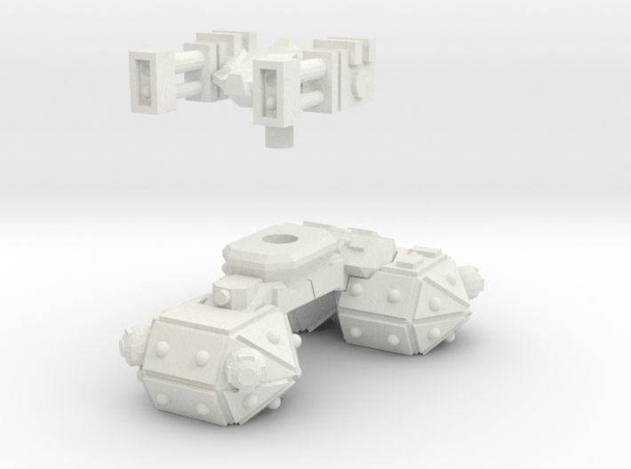 MG144-CT004 Radical Recon Tank 3d printed