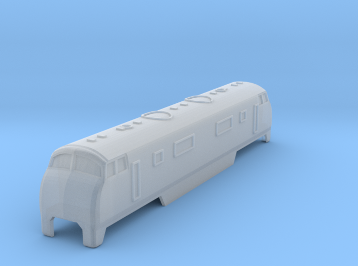 BR Warship 42 Class Old Model TGauge 3d printed