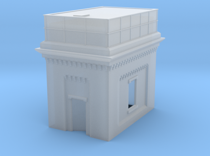 Water Tower (T-Gauge) 3d printed