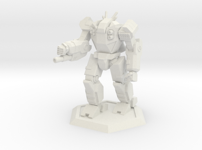 Mecha- Odyssey- Hyperion (1/285th) 3d printed