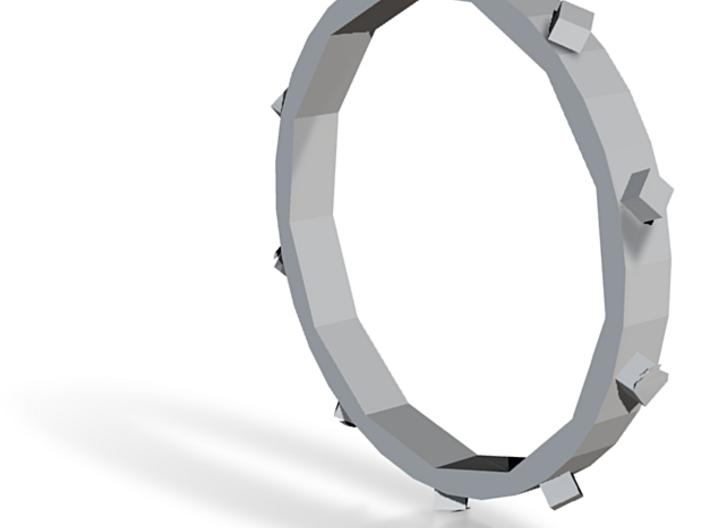 Unholey Ring Sz. 5 3d printed